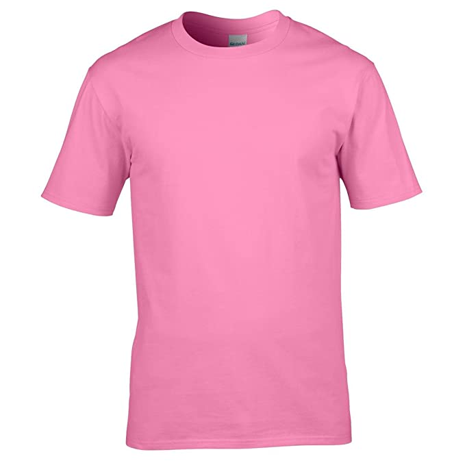 cc64f99e1f511a New Gildan Mens Ring Spun Preshrunk Jersey Knit Cotton Premium T Shirt S