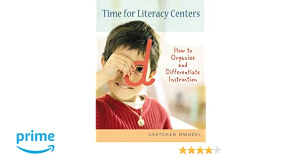 Workbook differentiated instruction worksheets : Amazon.com: Time for Literacy Centers: How to Organize and ...