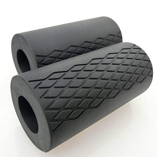 Fat Bar Grips for 2.0 Dumbbell and Barbell Textured Synthetic Silica Gel