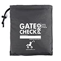 Gate Check Pro XL Double Stroller Travel Bag | Premium Quality Ballistic Nylo...