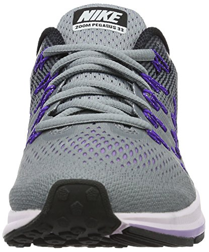 Nike Womens Air Zoom Pegasus 33 Stealth / Bianco-nero