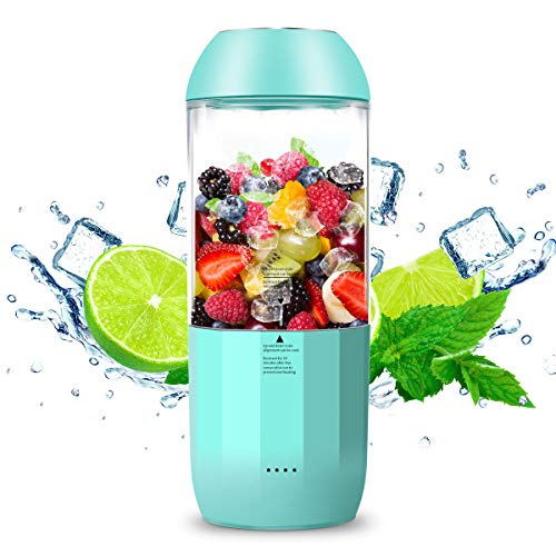 (HAMSWAN Portable Personal Blender, Mini Juice Mixer with Shakes & Smoothies)