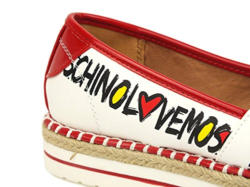 On Bianca logata JA19223G05 Love Rossi Profili Nr Slip 38 Moschino qIwOxpE
