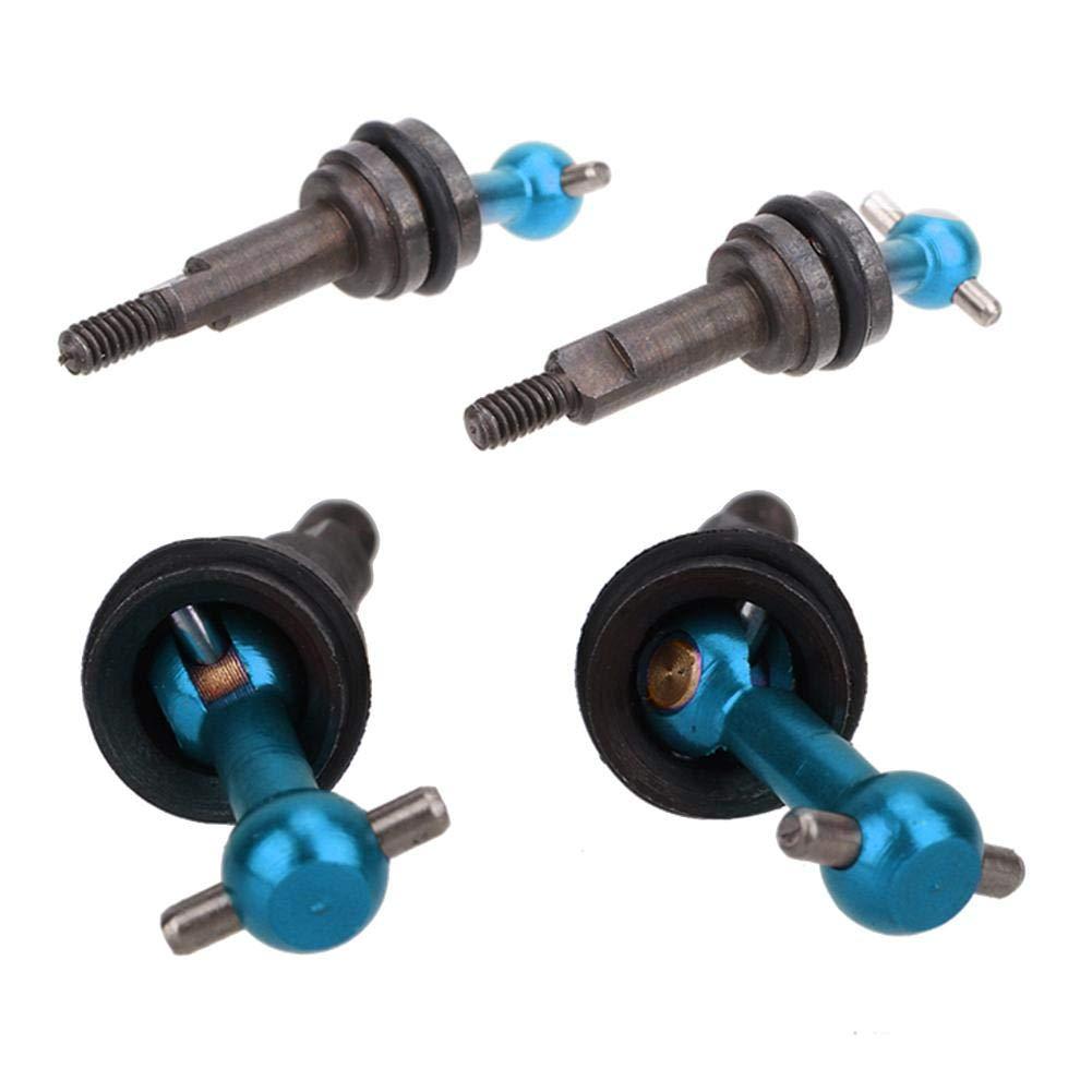 Joint dentra/înement Universel RC pour Arbre de Transmission m/étallique Compatible avec WLtoys P929-20B Blue Dilwe 1//28 Arbre de Transmission de Voiture RC