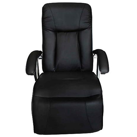 Festnight Adjustable Electric TV Recliner Massage Chair,Black