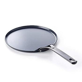BK 14 Inches Black Carbon Steel Crepe Pan