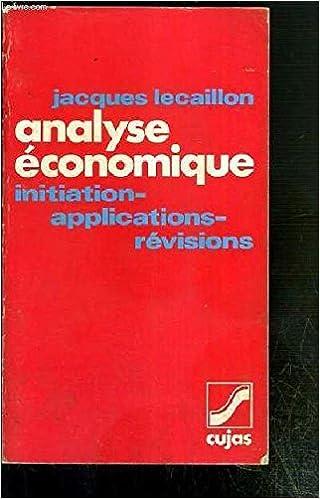Livres gratuits Analyse économique pdf, epub