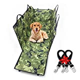 Paws Up Original Pet Seat Cover Scratch Proof Waterproof Nonslip Dog Hammock Easy Clean Dog Car Seat Covers Pet BackSeat Covers for Cars, Trucks and SUVs (X-LARGE, CAMOUFLAGE) For Sale