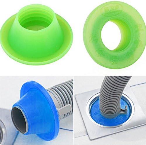 Taille Unique Green GEZICHTA Anti-Odeur D/éodorant /Égouts Tuyau /Égouts WC Lavabo vidange Machine /à Laver Pest Bouchon d/étanch/éit/é
