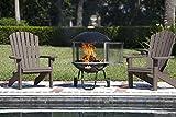 Fire Sense Bon Fire 28-Inch Portable Fireplace