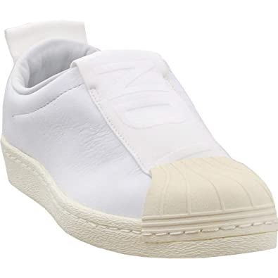 Amazon.com | adidas Womens Superstar BW Slip-on Athletic & Sneakers White | Fashion Sneakers