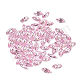 Neerupam collection Pink Colour Cubic Zirconia AAA Quality Diamond Cut Marquise Shape loose gemstone