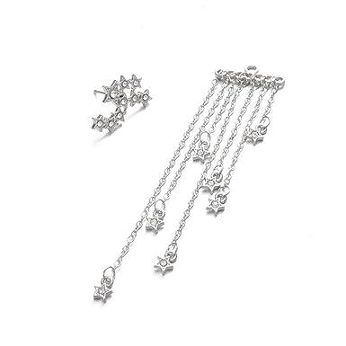 7b19de52ee9aa Amazon.com: Womens Earrings,Stylish Shooting Star Dangle Earring ...
