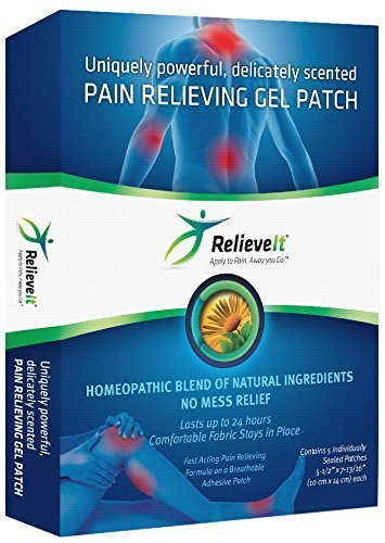 Relieveit Pain Relieving Gel Patch product image