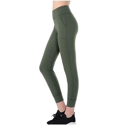 Mallas Deportivas de Mujer, Mujer Pantalones elásticos de ...