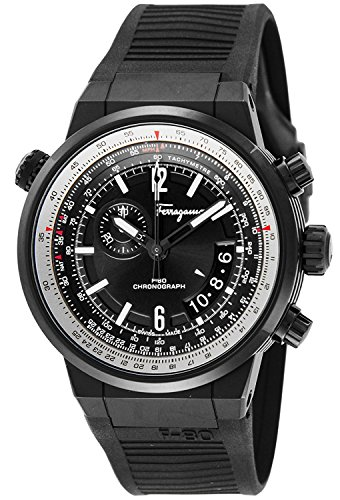 Salvatore-Ferragamo-watch-F-80-Black-Dial-Stainless-FQ2020013-Mens-parallel-import-goods