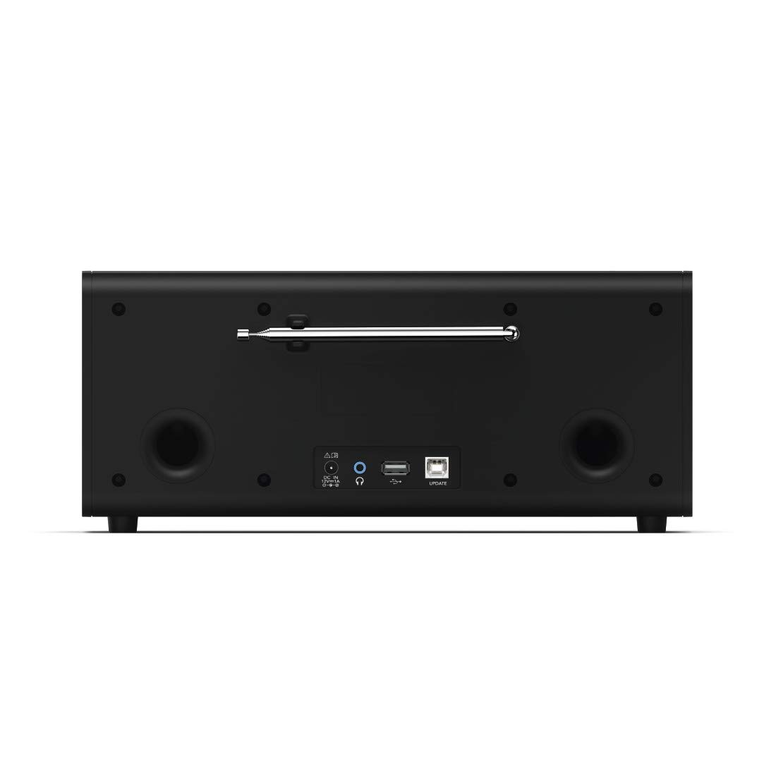 Hama DR1550CBT Portátil Digital Negro - Radio (Portátil, Digital, Dab+,DMB,FM, 87,5-108 MHz, 174-240 MHz, LCD): Amazon.es: Electrónica