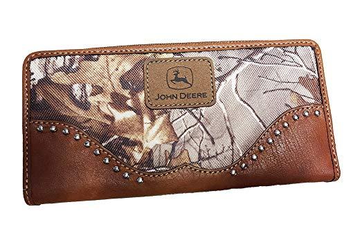 John Deere Realtree Ladies Clutch Wallet