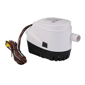 24v Bomba de Agua Sumergible Interruptor de Flotador Achique Barco Automática 750GPH: Amazon.es: Deportes y aire libre