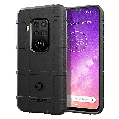 Funda Resistente Para Motorola One Zoom, Negra