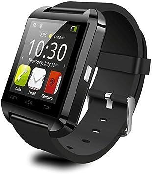 Smartwatch con Bluetooth Hinmay U8, para smartphones iOS y Android ...