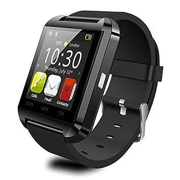 Smartwatch con Bluetooth Hinmay U8, para smartphones iOS y ...