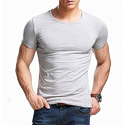 ZUMUii Camiseta Negra Ajustada de Manga Cortada con Cuello Redondo para Hombre, de Butterme Hombre Modal Negro Negro Large: Amazon.es: Electrónica