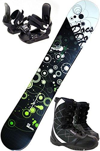 滑り台超える揺れる【3点セット】 ZUMA (ツマ) スノーボード ZUMA DOCS 選べる3カラー 150/153/158/163cm ビンディング付き ブーツ付き