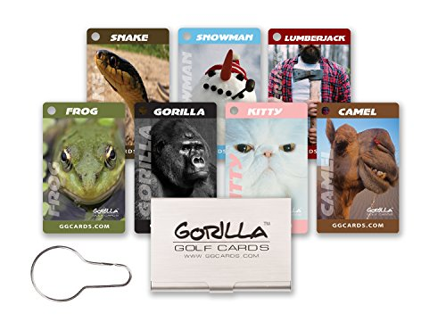 Gorilla Golf Cards : The On-Course Golf Betting Game by Gorilla Golf Cards (Image #9)
