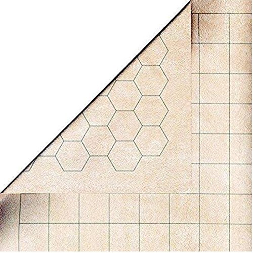 Edu Mat - Chessex Role Playing Play Mat: MEGAMAT Double-Sided Reversible Mat for RPGs and Miniature Figure Games - 34 1/2in x 48in