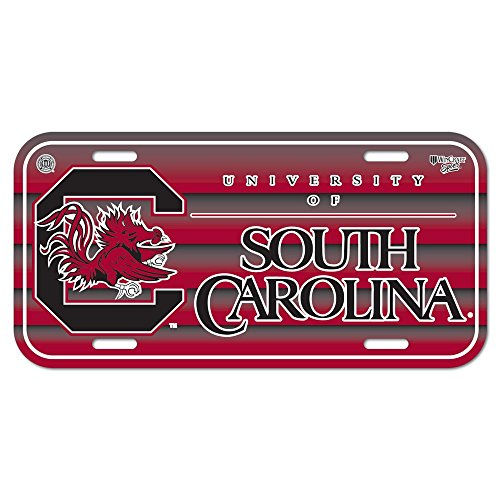 WinCraft NCAA University of South Carolina License Plate