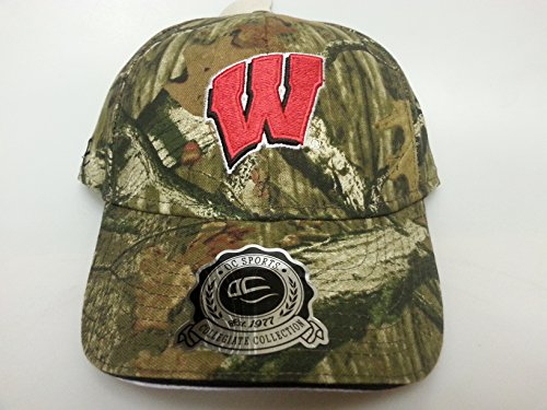 NCAA New Wisconsin Badgers Realtree Camo Buckle Hat by NCAA