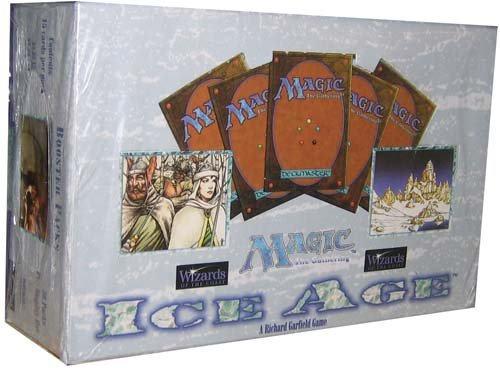 Magic The Gathering Card Game - Ice Age Booster Box - (Ice Age Booster Box)