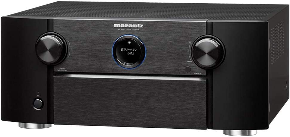 Marantz AV7706 11.2Ch 8K Ultra HD AV Surround Pre-Amplifier with HEOS Built-in and Voice Control