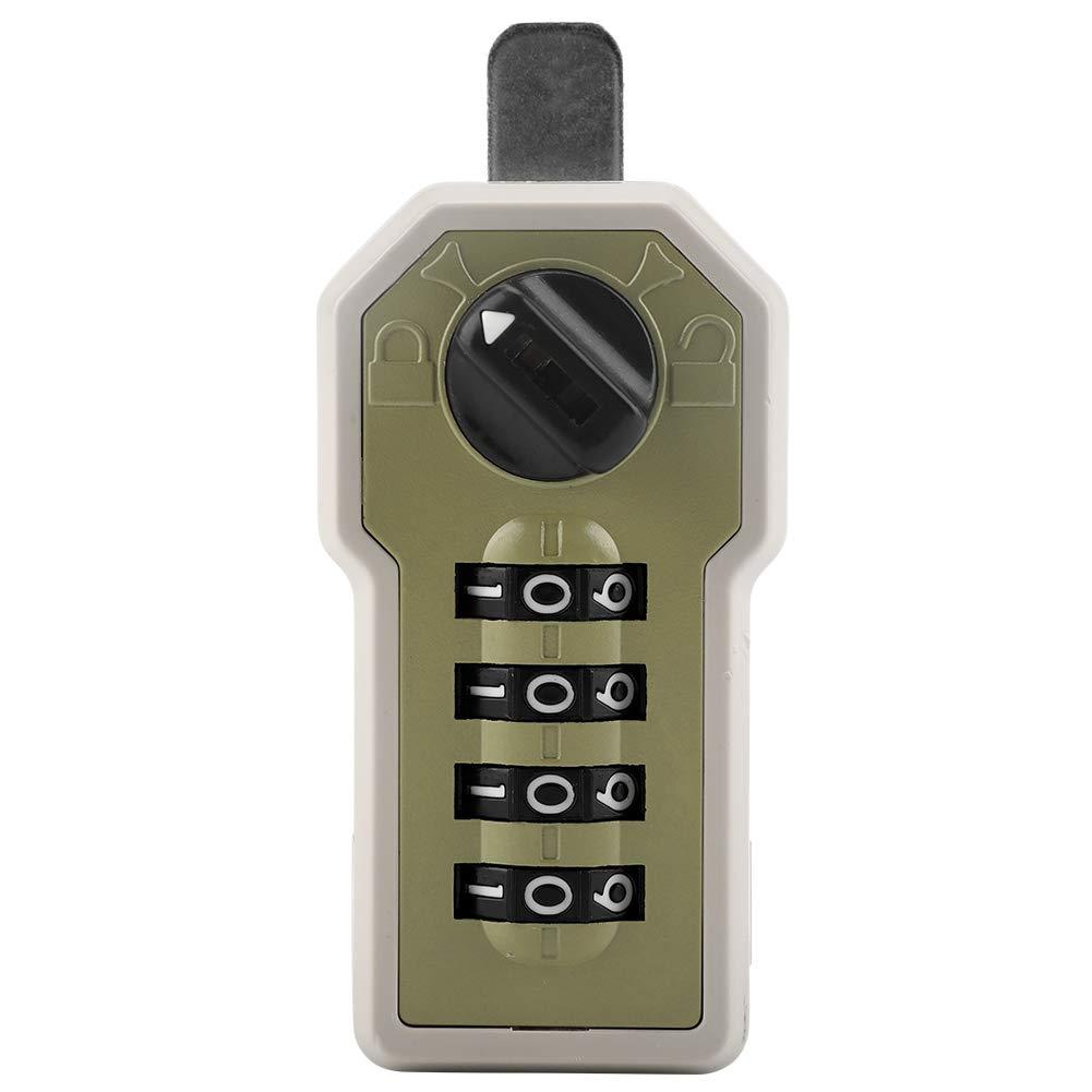 Fdit Codeschloss 4-stellige Code Kombination Cam Cabinet Komfortable Passwort Sicherheit Coded Lock mit Schl/üssel