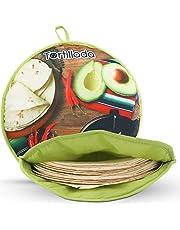 Tortillada - 30 cm Tortilla warmer/warmtecontainer geschikt voor de magnetron van katoen/polyester