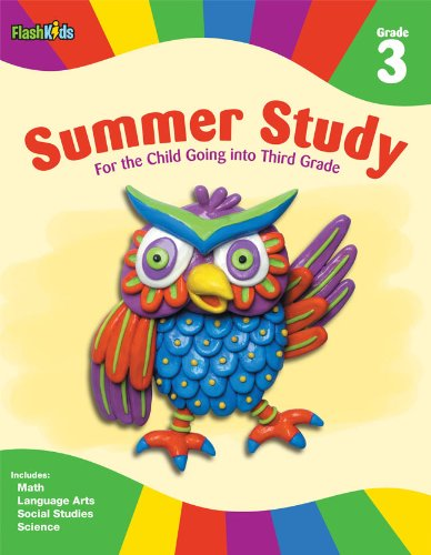 Download Summer Study: Grade 3 (Flash Kids Summer Study) pdf