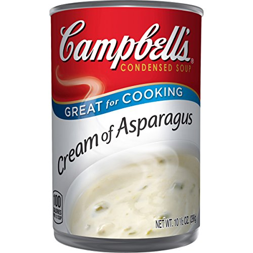 Campbell's Condensed Soup, Cream of Asparagus, 10.5 Ounce(Pack of 12)