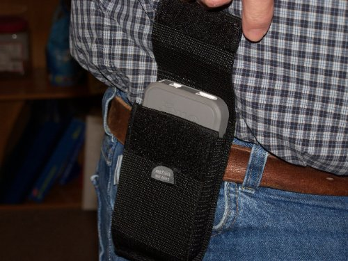 Droid Razr Maxx HD Cell phone belt holster NO CLIPS TO BREAK ()