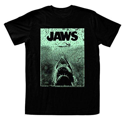Jaws Shark Attack Amnity Island Adult T-Shirt Tee
