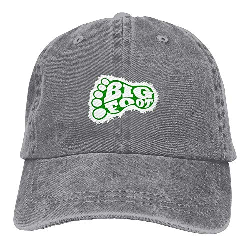 Gorras béisbol Bigft Paw Denim Hat Adjustable Female Washed Baseball Hats