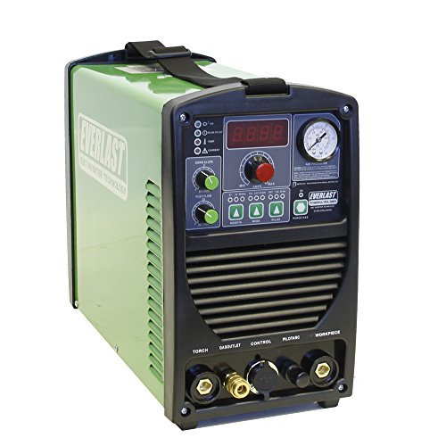 2017 Everlast PowerUltra 206Pi 200a Multi Process Welder TIG Stick Pulse 50a Plasma Cutter Dual...