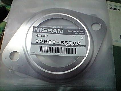 Genuine Nissan 20692-65J00 Exhaust Pipe Gasket, Model: 20692-65J00,  Outdoor&Repair