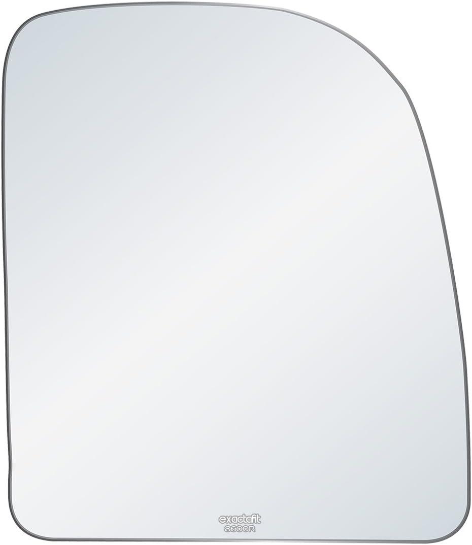 Mirror Glass For Ford E-Series Tow E-150 E-250 E-350 SD Driver Left Side