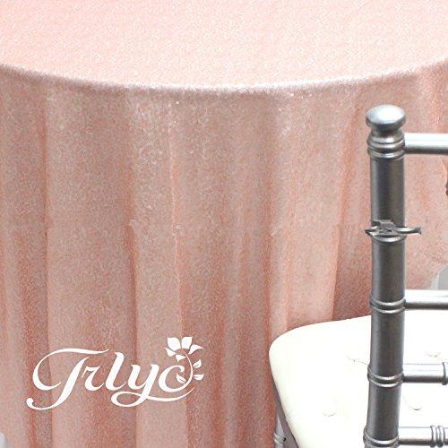TRLYC 72 Sequin Tablecloth Wedding