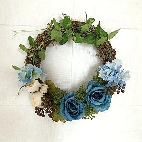 Grapevine Door Wreath Decor - 7