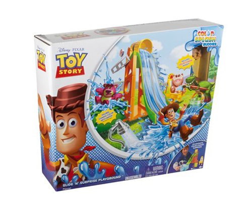 Amazon.com  Toy Story Slide  n  Surprise Playground Playset  Toys   Games 0a93cee897e