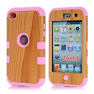 Touch 4 case,Carryberry touch 4 cases,touch 4 case cover,Touch 4 cover,Cute design 3in1 hybrid case cover for ipod touch 4 4th (touch 4)