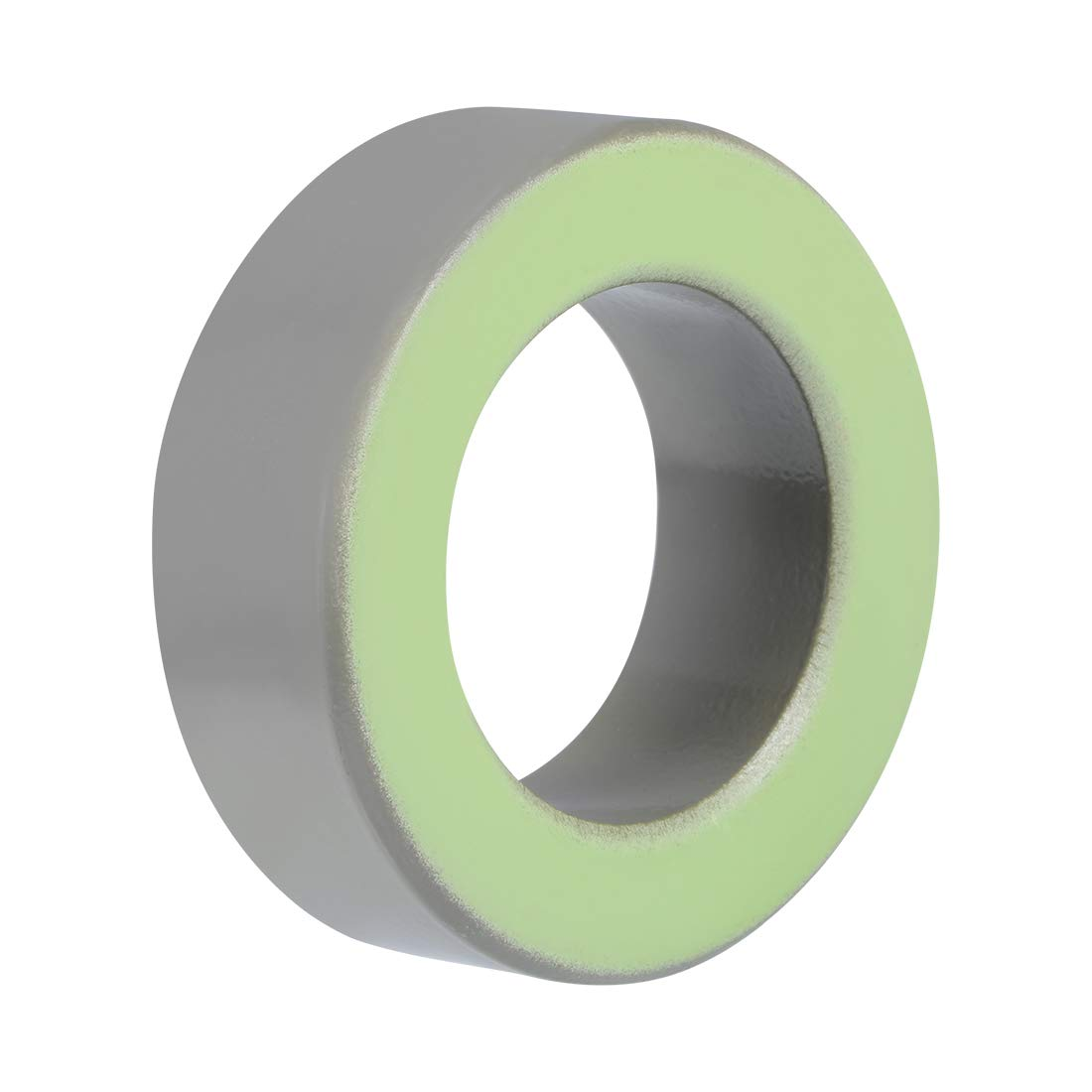 uxcell 48.5 x 77.8 x 26mm Ferrite Ring Iron Powder Toroid Cores Gray Light Green