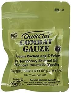 Amazon Com Quickclot Combat Gauze Z Fold Health